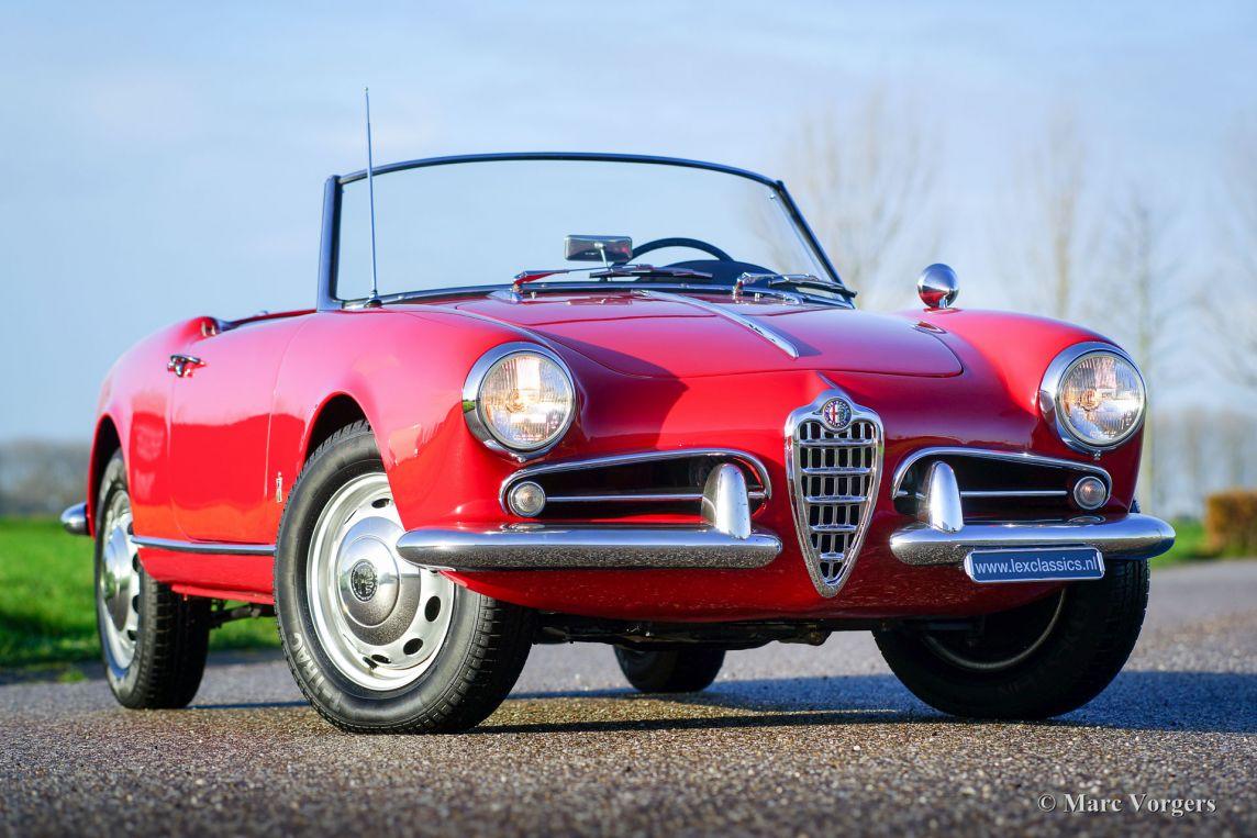 Alfa Romeo Giulietta Spider Red Da