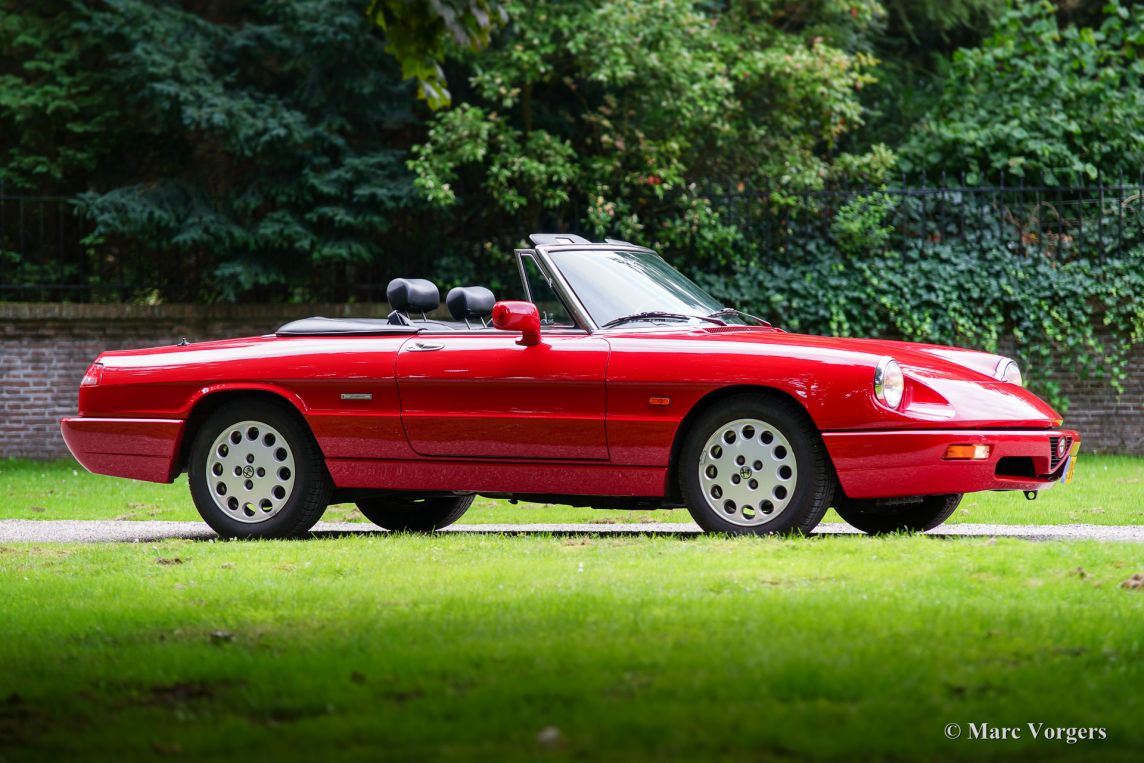 alfa romeo spider 2.0 type 4, 1992 - welcome to classicargarage