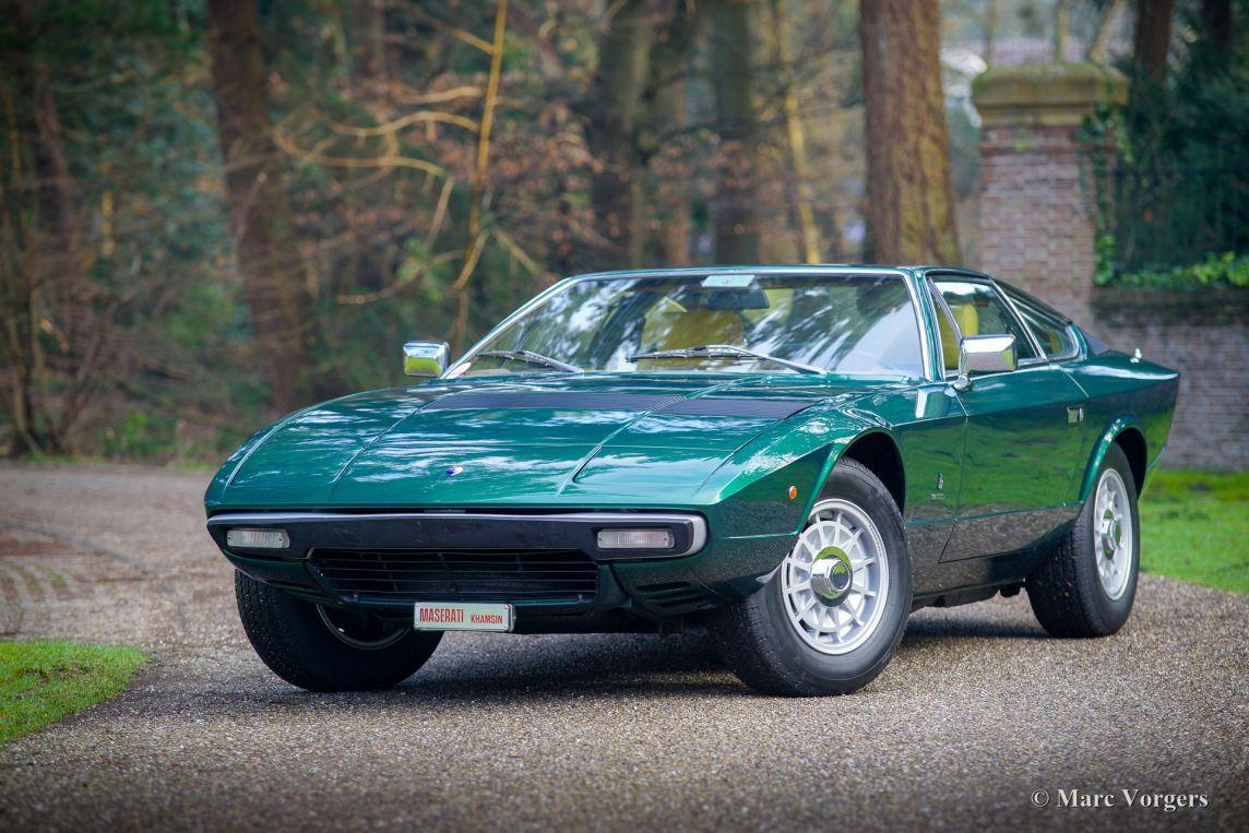 Maserati Khamsin, 1974 - Welcome to ClassiCarGarage