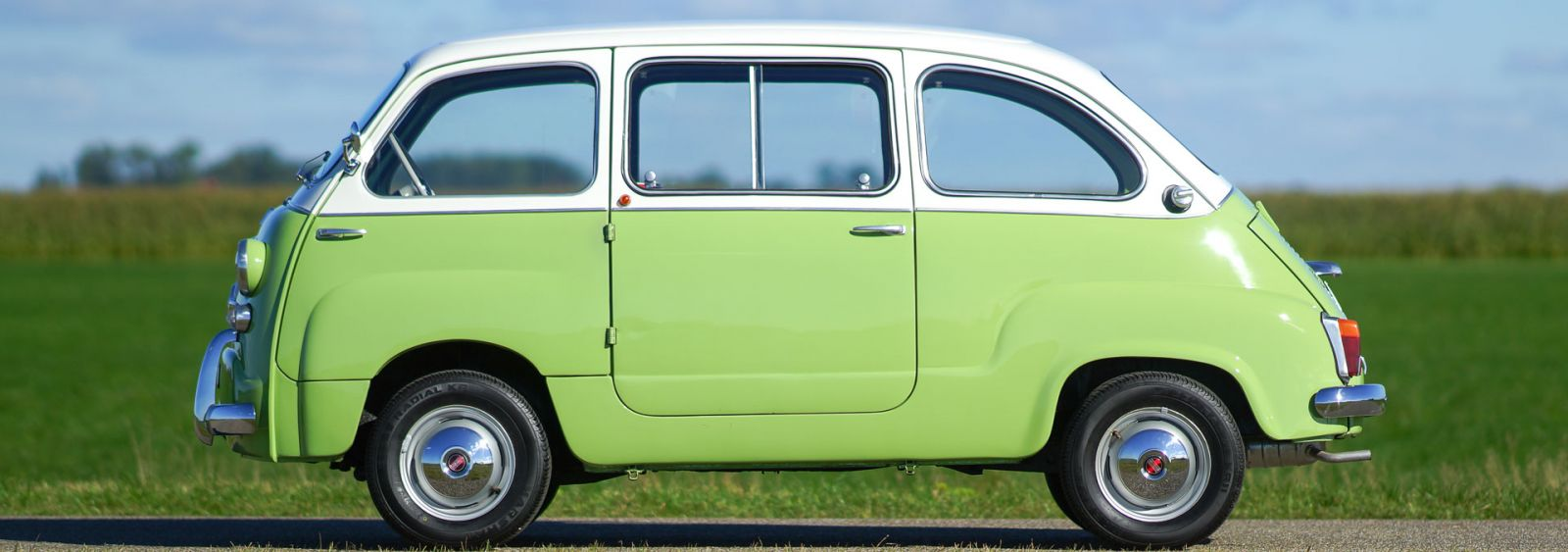 Fiat 600 multipla 1963 classicargarage fr for Interieur fiat multipla