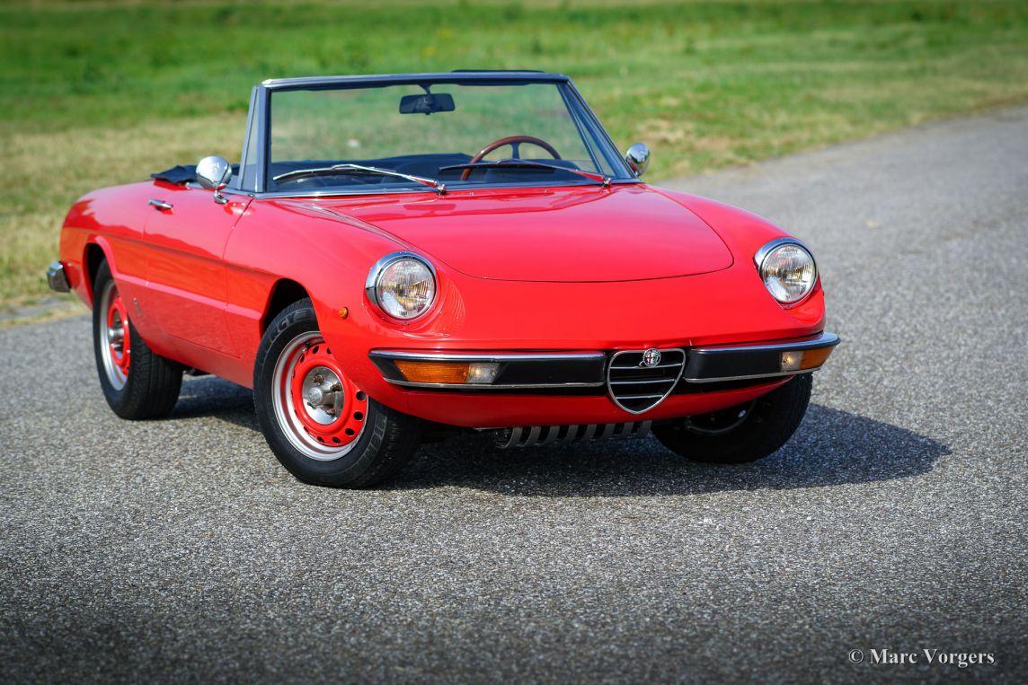 Alfa Romeo Spider 1600, 1975