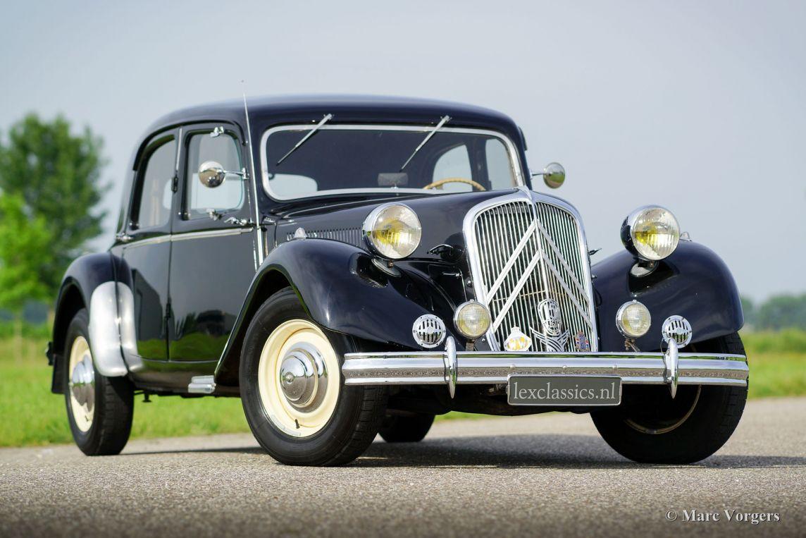 Citro n 15 six traction avant 1951 welcome to for Garage citroen paris 15