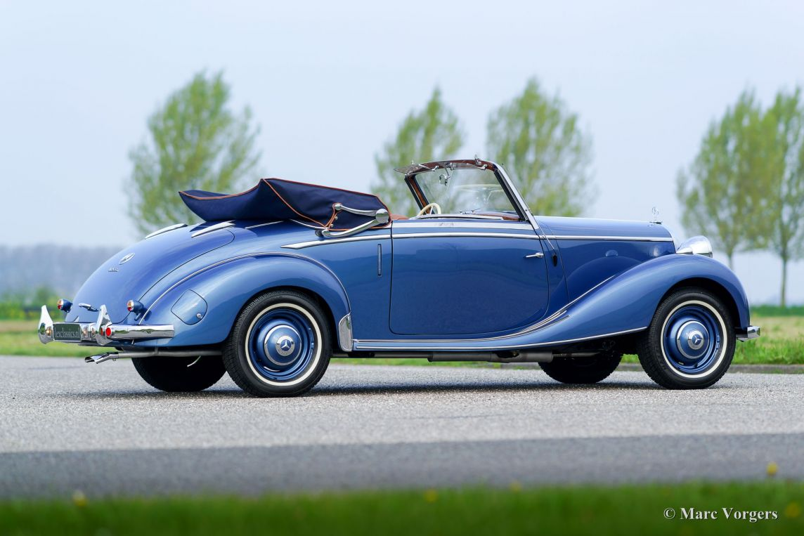 mercedes benz 170 s cabriolet a 1950 welcome to classicargarage. Black Bedroom Furniture Sets. Home Design Ideas