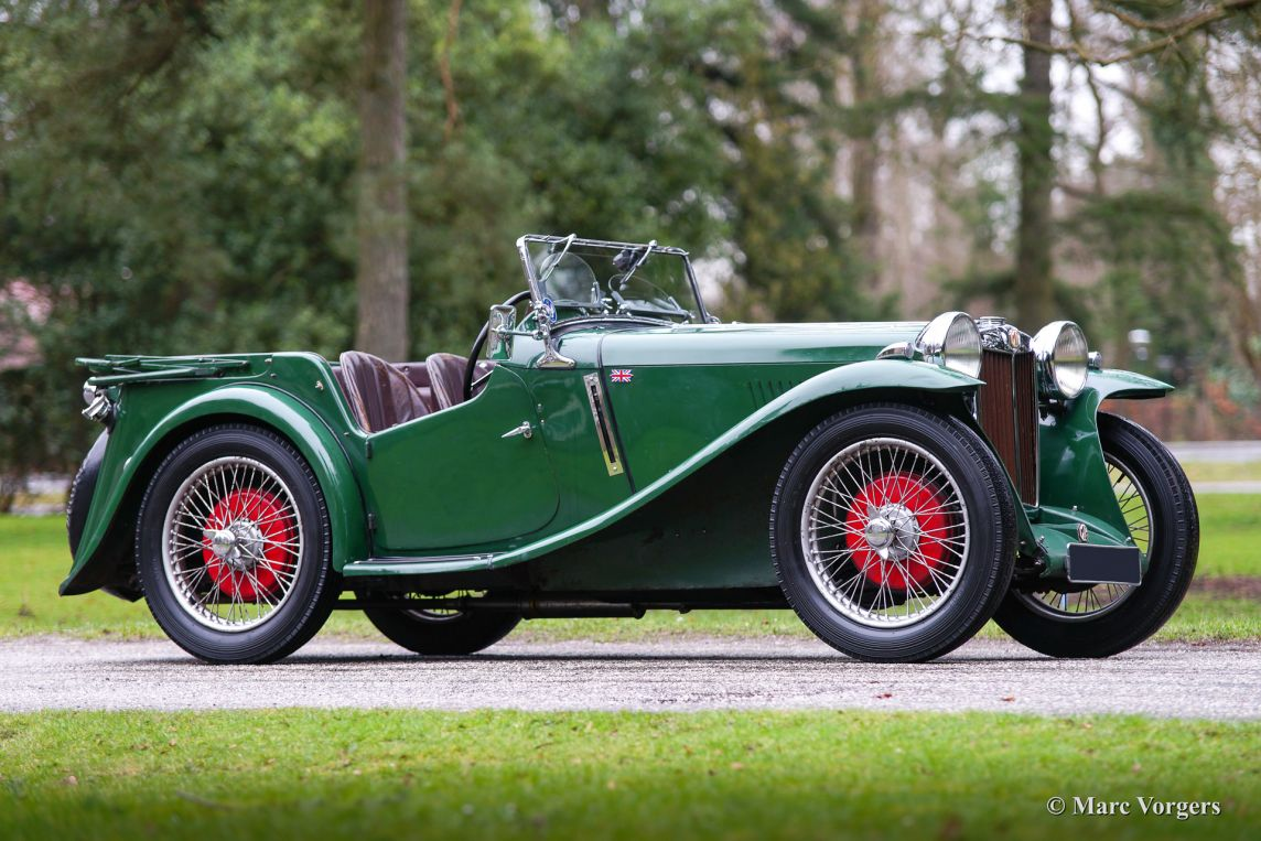 Mg Pb Four Seater 1935 Welcome To Classicargarage