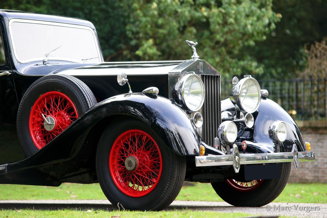 Rolls Royce 25 30 Sports Saloon 1937 Welcome To