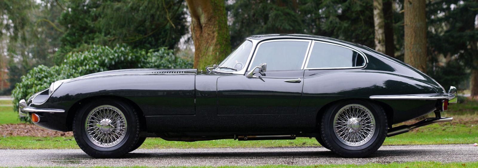 Nice Jaguar E Type 4.2 Litre FHC S2, 1969