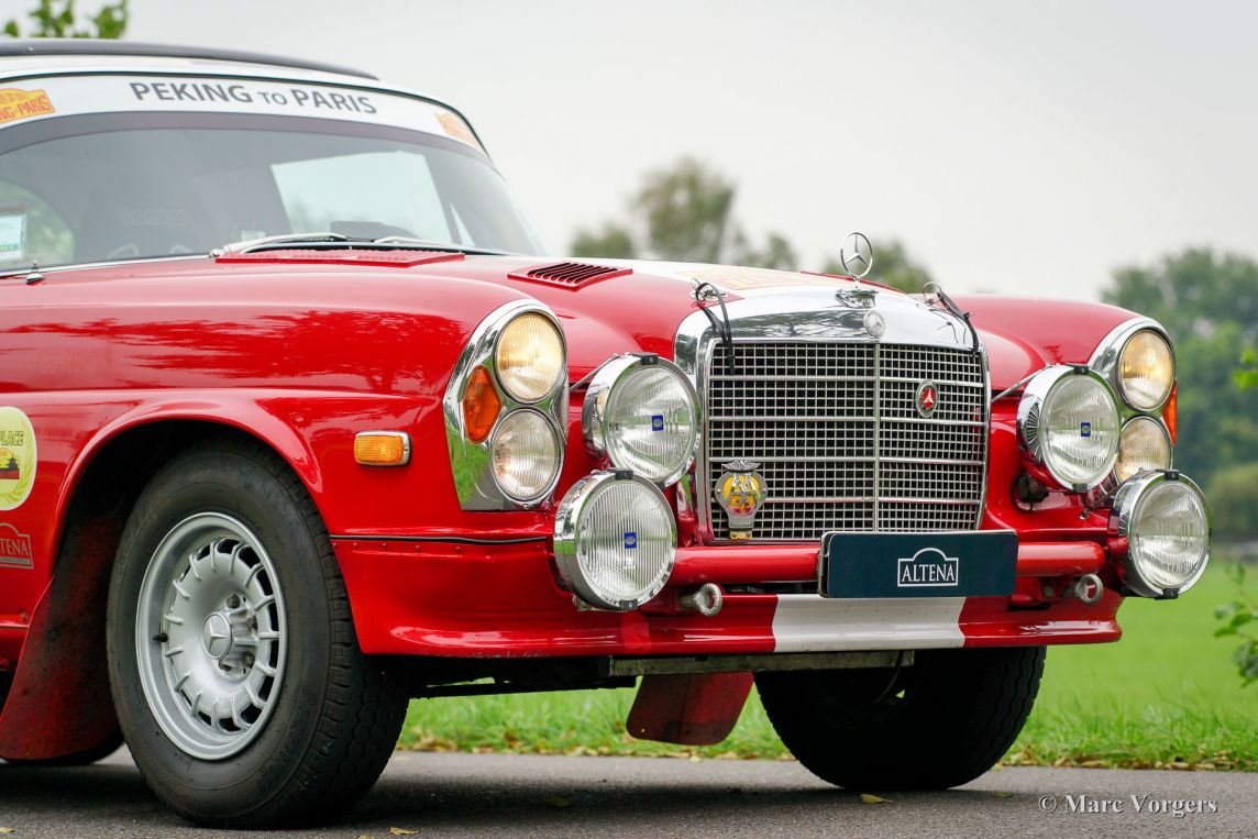 Mercedes benz 280 se 3 5 rally car 1970 classicargarage for Rally mercedes benz