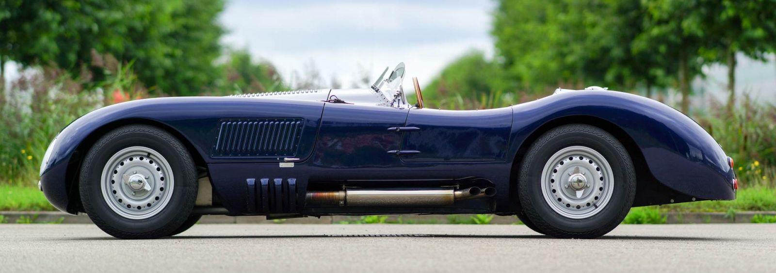Attractive Jaguar C Type Replica, 1965
