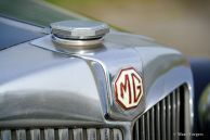MG YA sports saloon, 1951