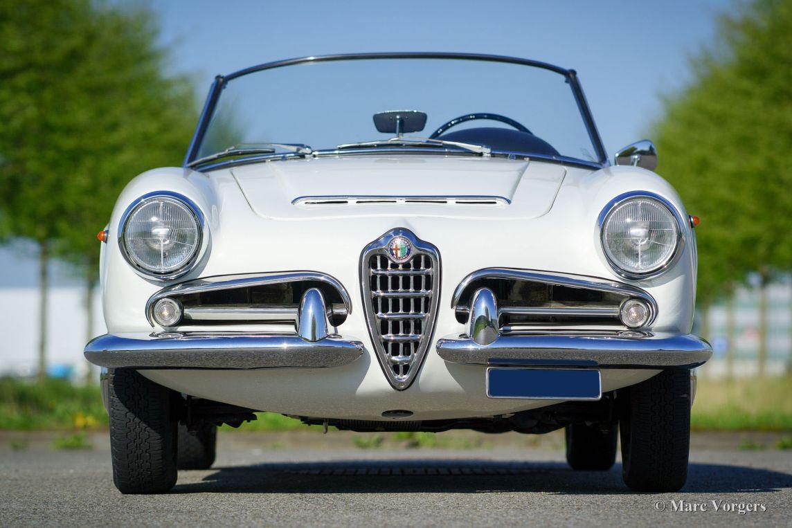 Alfa Romeo Giulia 1600 Spider 1962 Welcome To Classicargarage