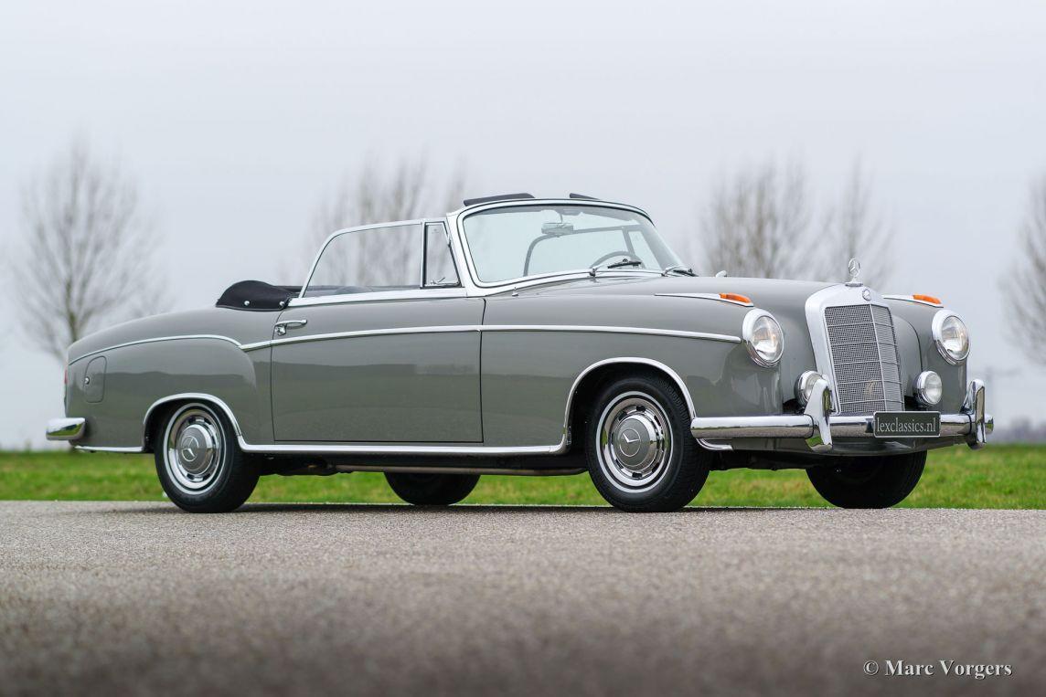 mercedes benz 220 se cabriolet 1959 welcome to classicargarage. Black Bedroom Furniture Sets. Home Design Ideas