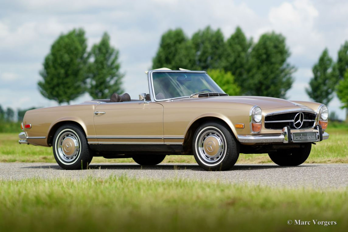 Mercedes benz 280 sl pagode 1969 welcome to for Where do they make mercedes benz