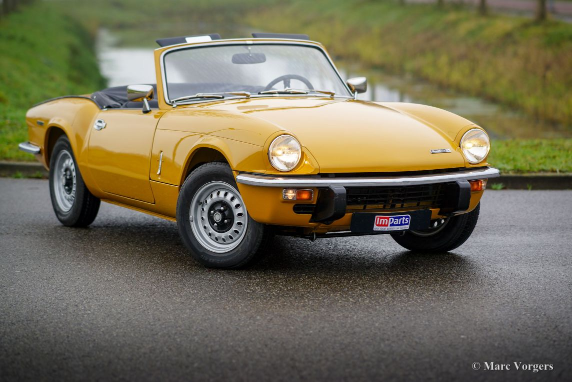 Triumph Spitfire Mk 4 1972 Welcome To Classicargarage