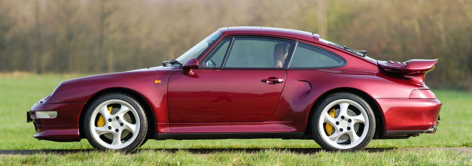 Porsche 911 (993) Turbo S, 1997