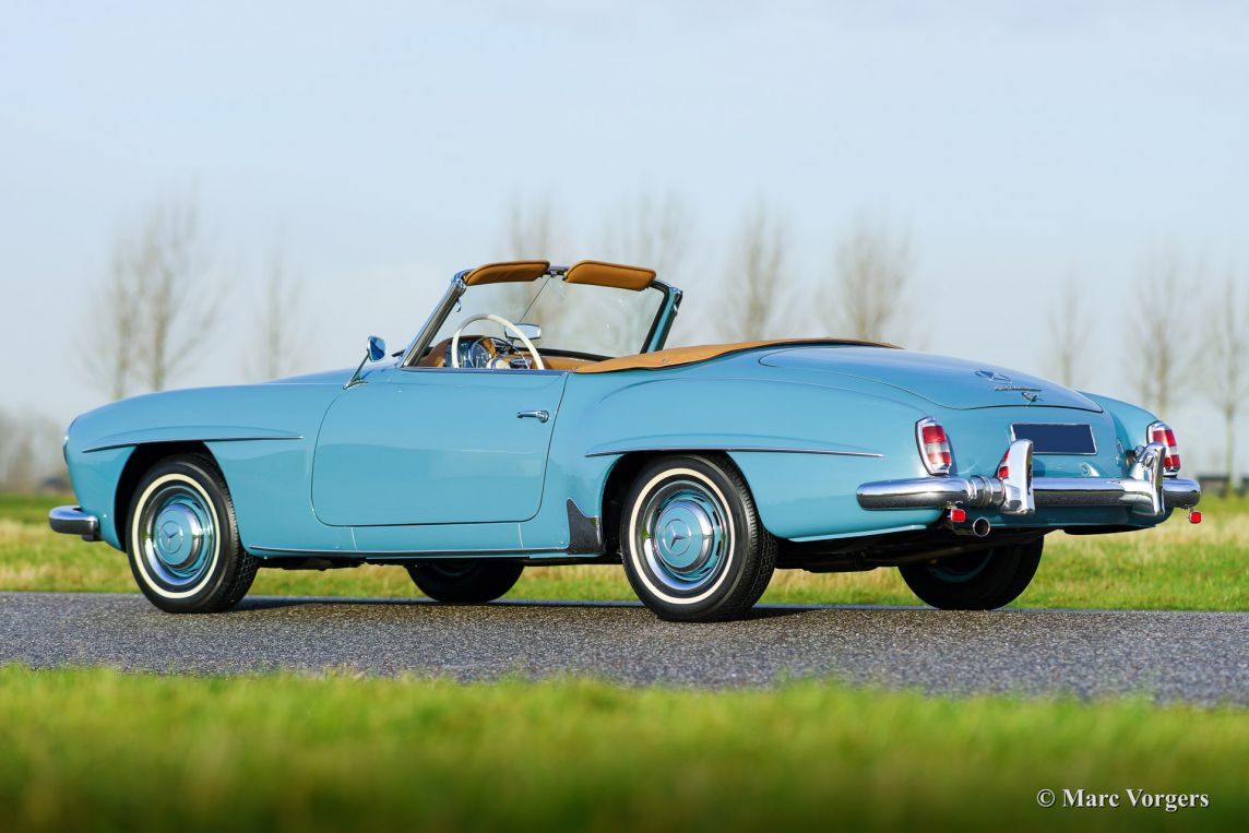 Mercedes Benz 190 Sl 1959 Welcome To Classicargarage