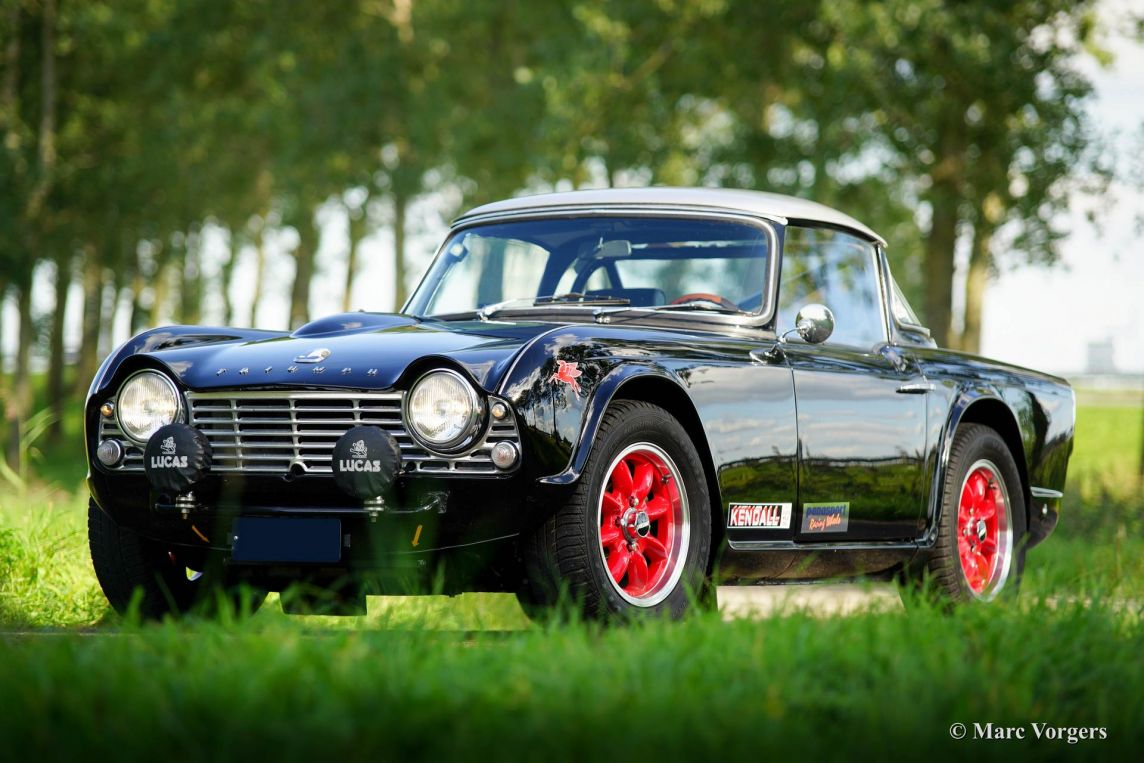 Triumph TR 4 rally car, 1962 - Welcome to ClassiCarGarage