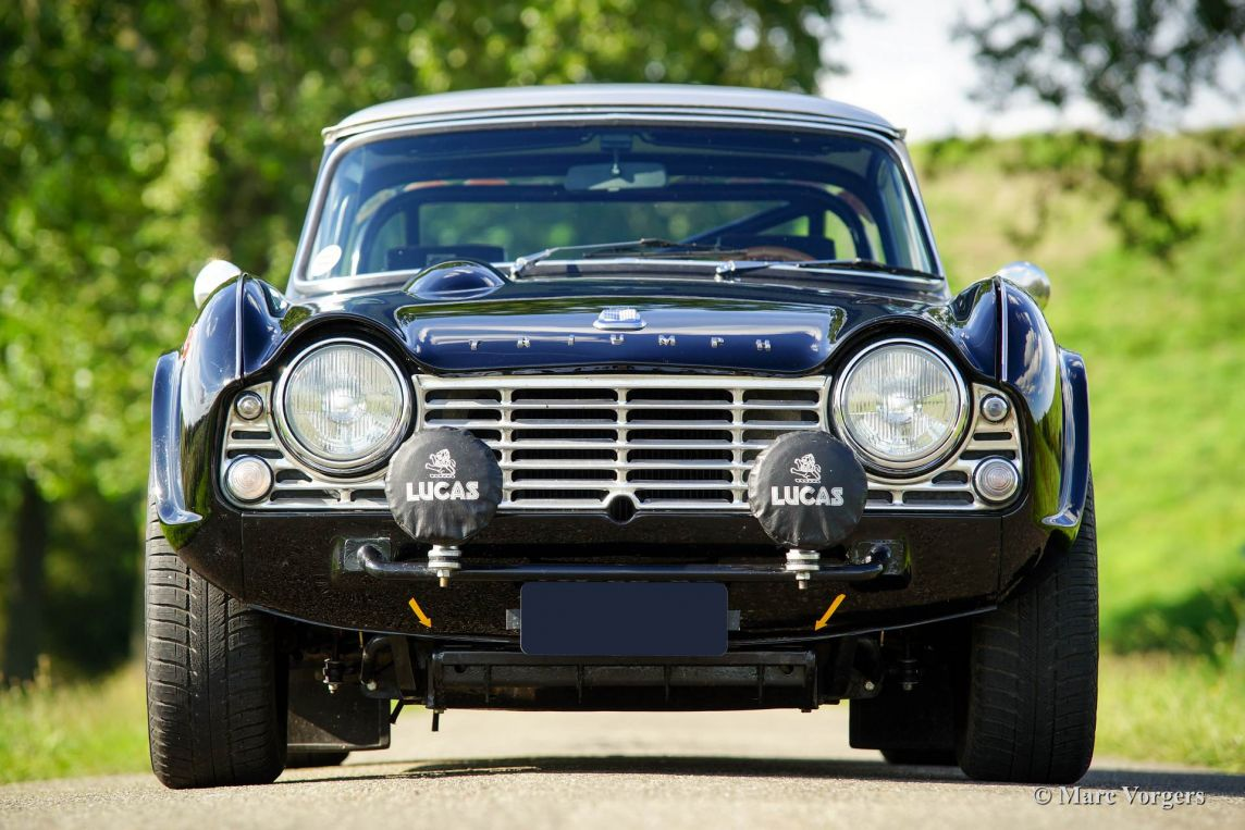 Triumph Tr 4 Rally Car 1962 Welcome To Classicargarage