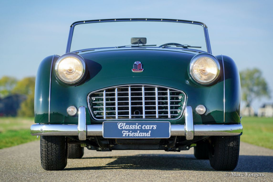 Triumph Tr3 1955 Welcome To Classicargarage