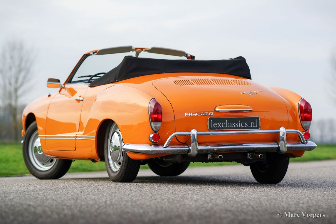 Volkswagen Karmann Ghia 1500 cabriolet, 1969 - Welcome to ClassiCarGarage