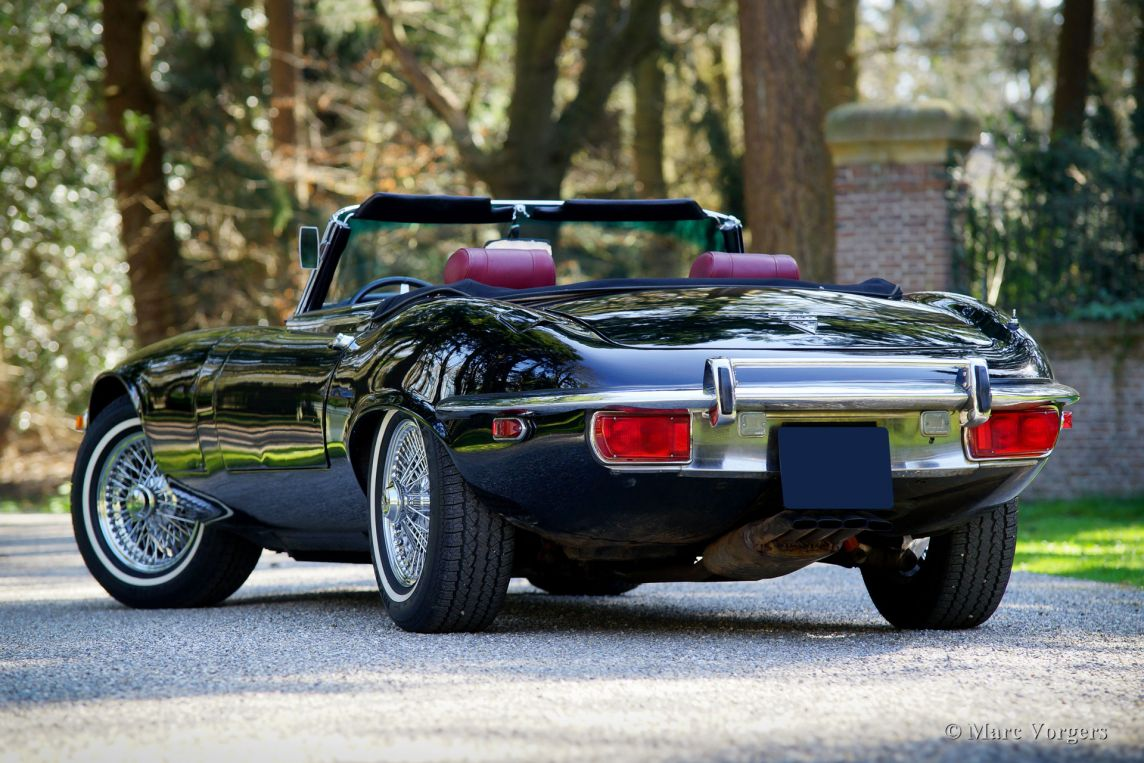 ... 1971 Jaguar E Type V12 Roadster, ...