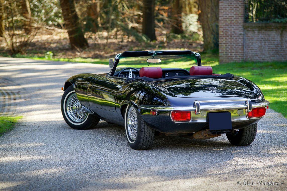Jaguar E Type V12 Roadster 1971