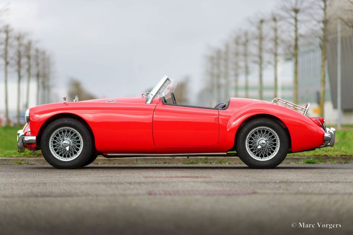 1958 mg mga 1500 roadster,