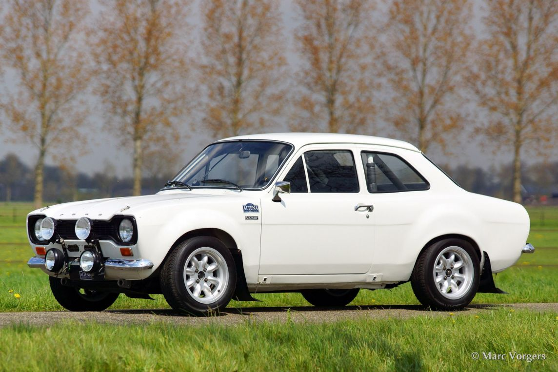 Ford Escort Mk I RS 2000 rally, 1973 - Welcome to ClassiCarGarage