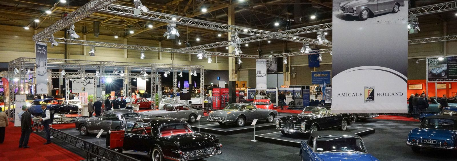 Facel Vega exhibition InterClassics 2017