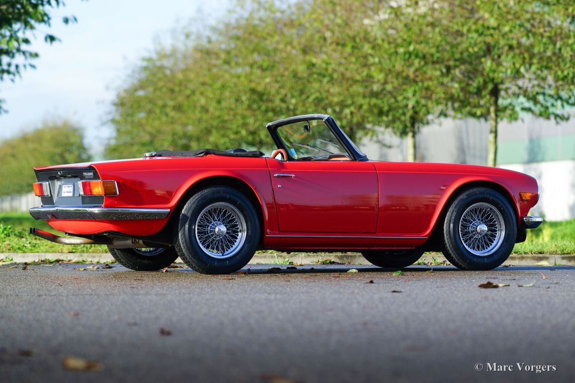 Triumph TR6 PI, 1974 - Welcome to ClassiCarGarage
