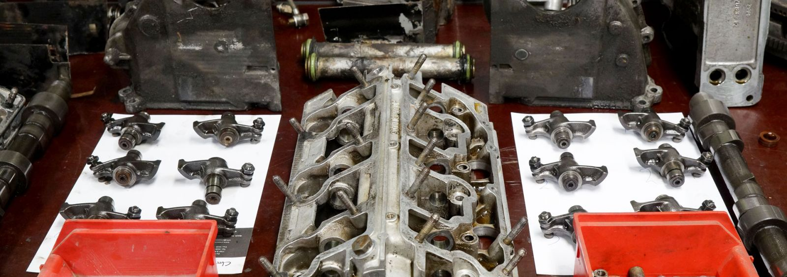 Porsche 911 2.4 S engine overhaul