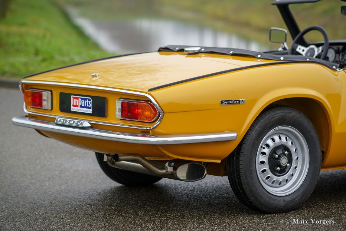 Cars For Sale Under 1500 >> Triumph Spitfire Mk 4, 1972 - Welcome to ClassiCarGarage