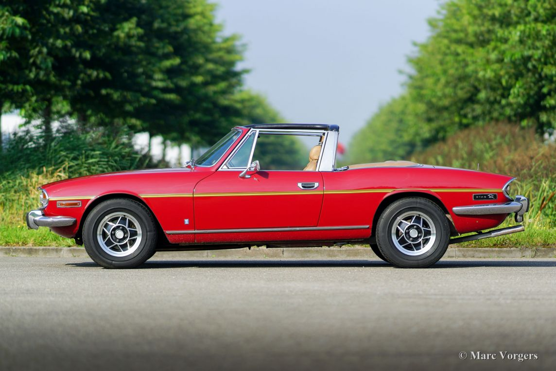 Triumph Stag 1975 Welcome To Classicargarage