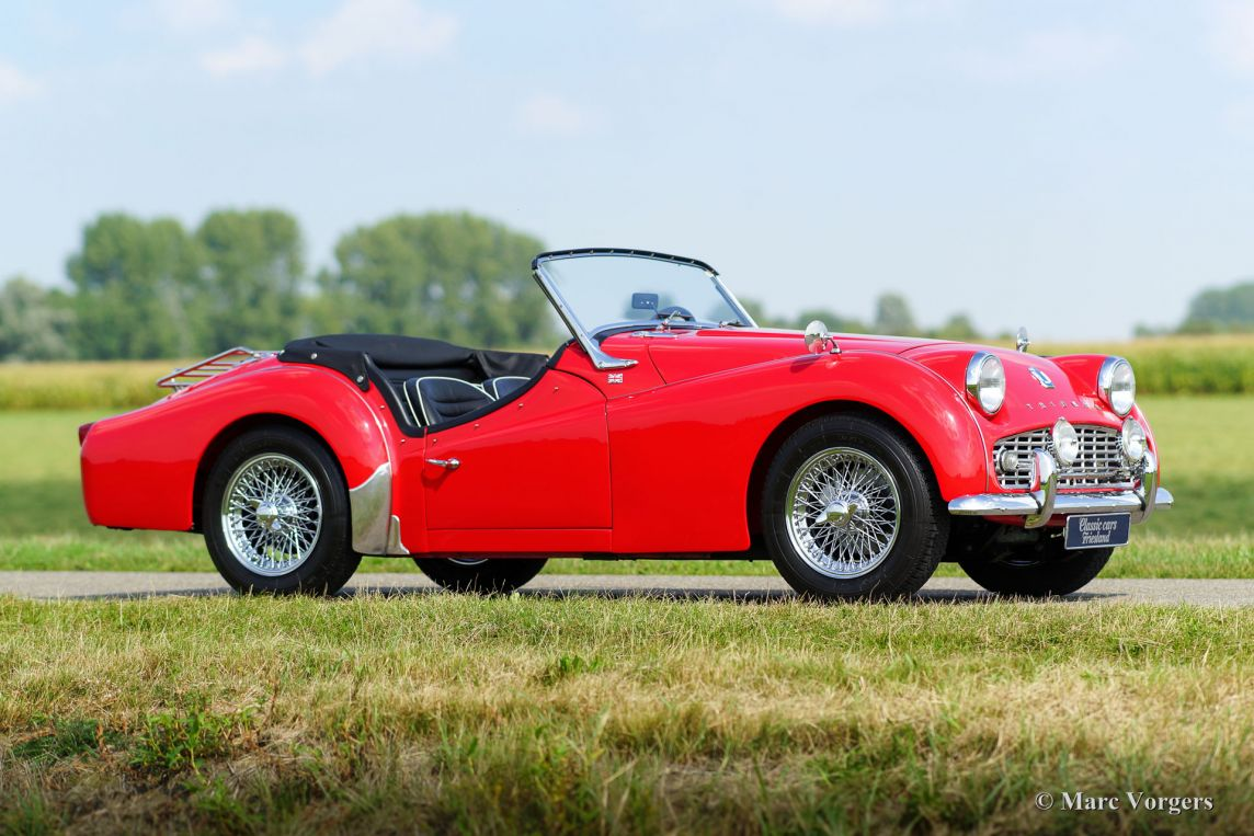 Triumph TR 3B, 1962 - Welcome to ClassiCarGarage