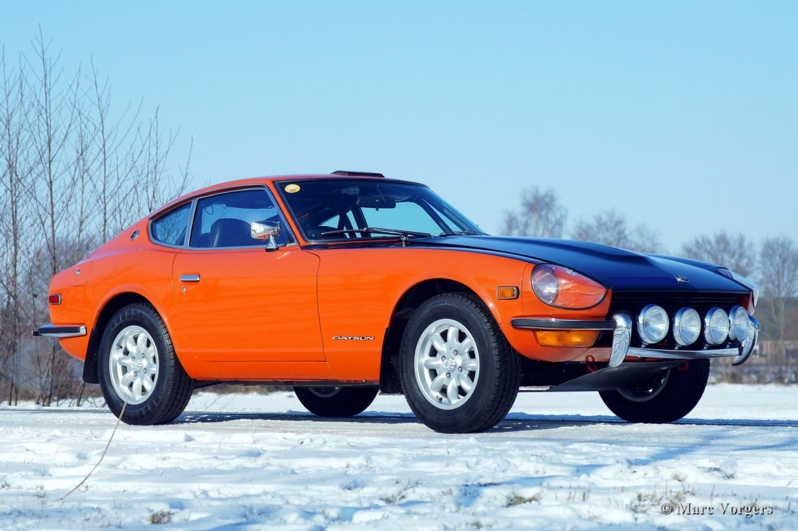 Datsun 240z For Sale >> Datsun 240 Z rally preparation - Welcome to ClassiCarGarage