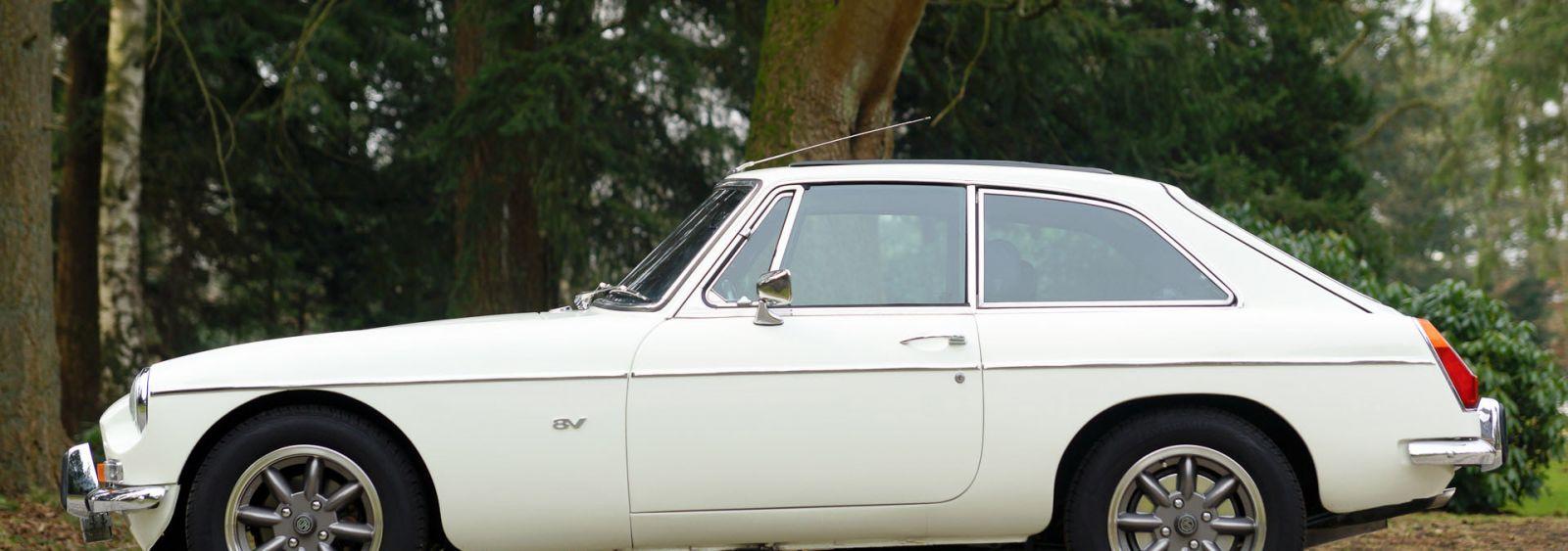 MG MGB GT V8, 1975
