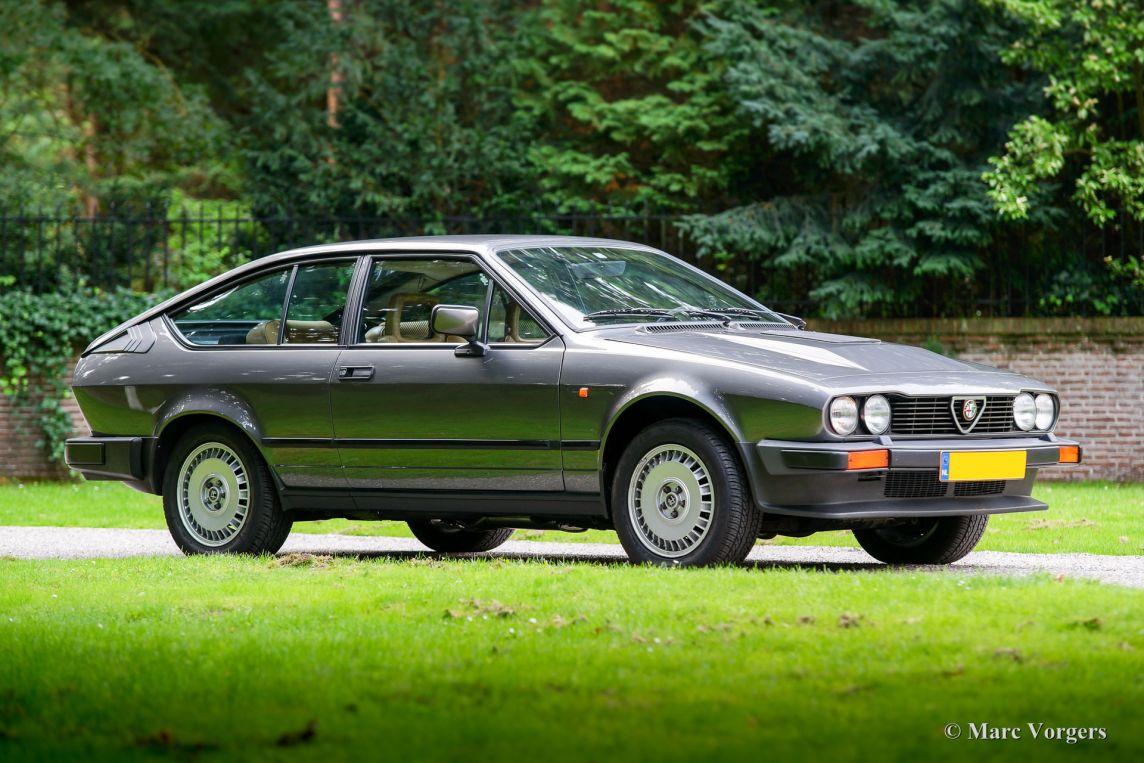 Alfa Romeo Alfetta GTV 6 2.5, 1983 - Welcome to ...
