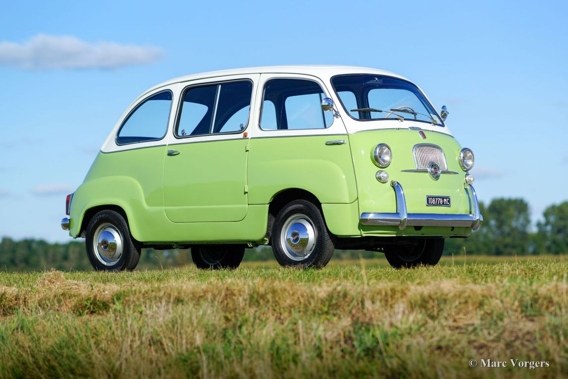 Fiat 600 Multipla 1963 Welcome To Classicargarage