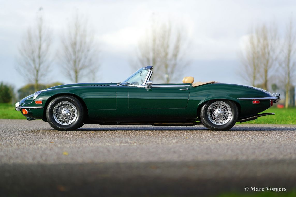 Jaguar E-type V12 Roadster  1973
