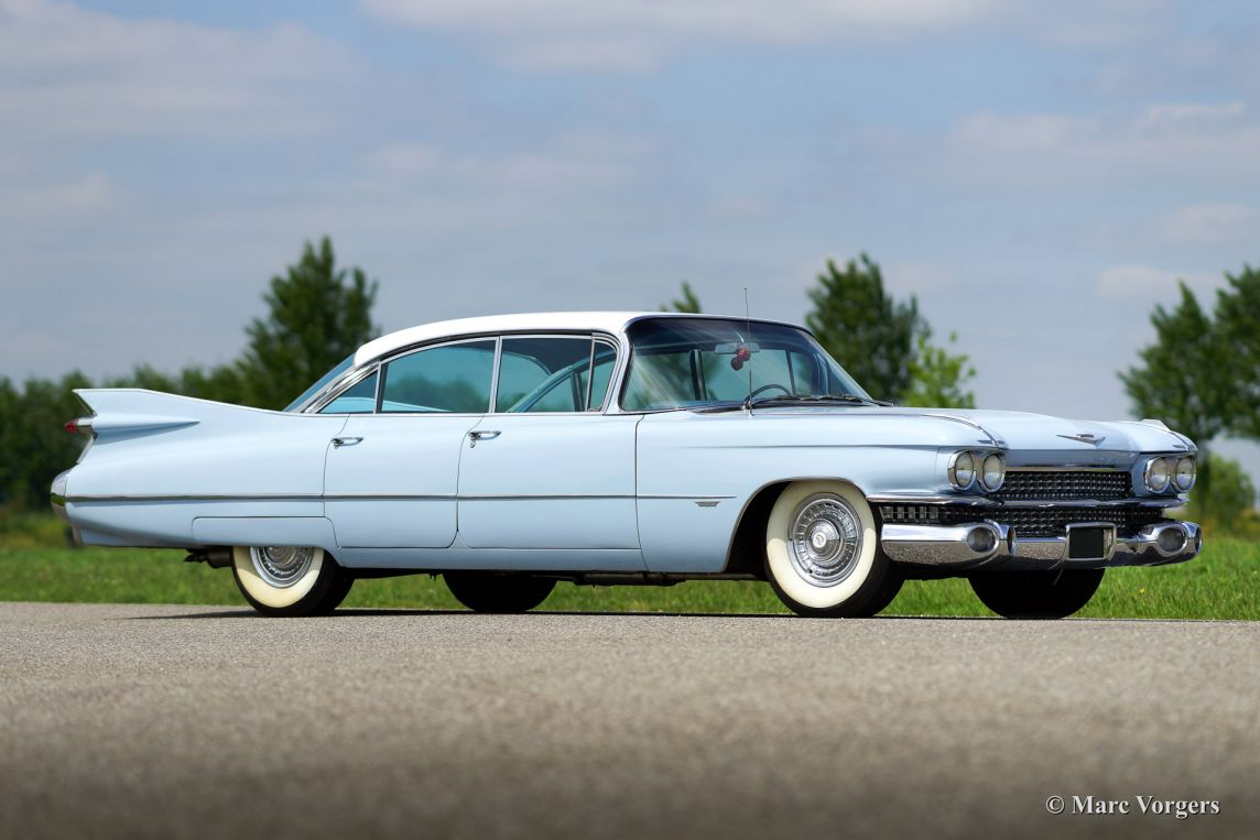 Cadillac Sedan De Ville 1959 Welcome To Classicargarage