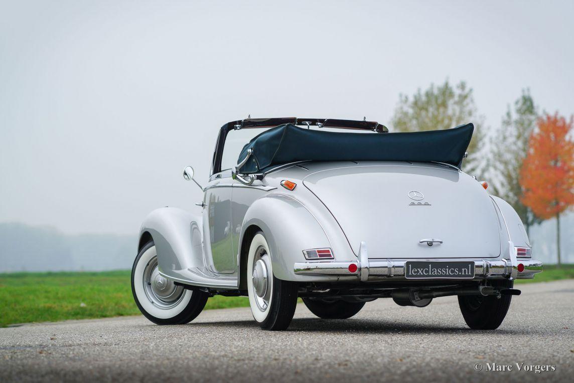 mercedes benz 220 a cabriolet 1952 welcome to. Black Bedroom Furniture Sets. Home Design Ideas