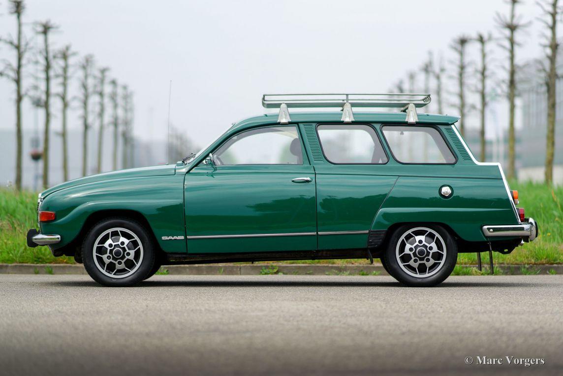 Saab 95 v4 station wagon 1975 welcome to classicargarage for Garage saab lyon