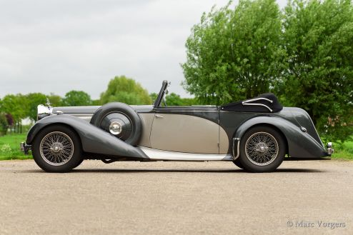 Alvis Speed 25 Charlesworth DHC, 1939