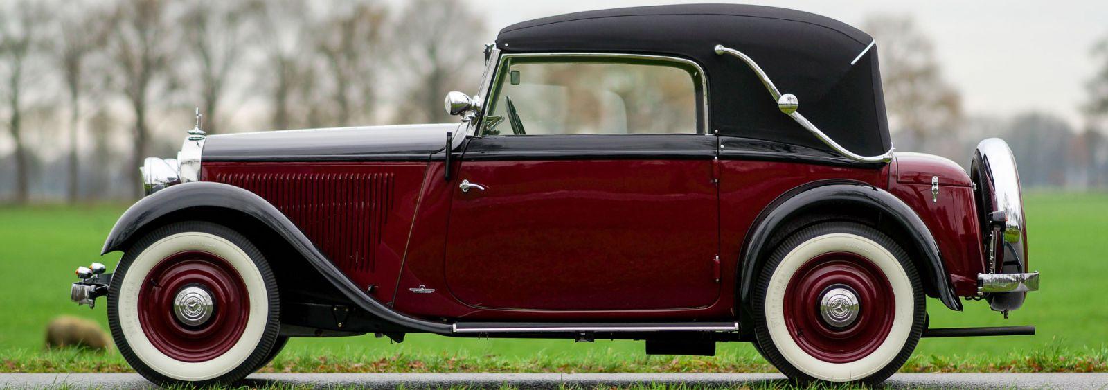 mercedes benz 200 w21 cabriolet 1933 welcome to. Black Bedroom Furniture Sets. Home Design Ideas