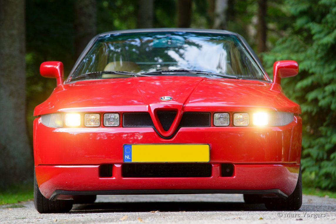 Old Classic Cars >> Alfa Romeo SZ, 1990 - Welcome to ClassiCarGarage