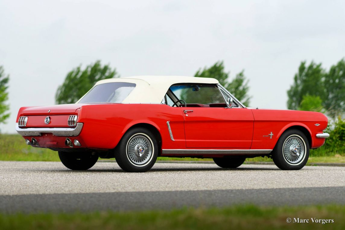 Ford Mustang Convertible 1965 Welcome To Classicargarage