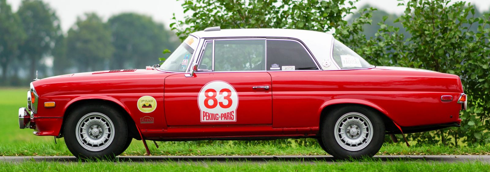 Mercedes-Benz 280 SE 3.5 rally car, 1970 - Welcome to ClassiCarGarage