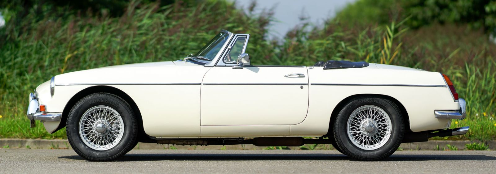 MG MGB roadster, 1967