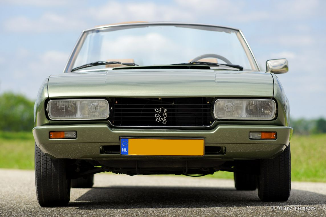 Peugeot 504 Pininfarina cabriolet, 1979 - Welcome to ClassiCarGarage