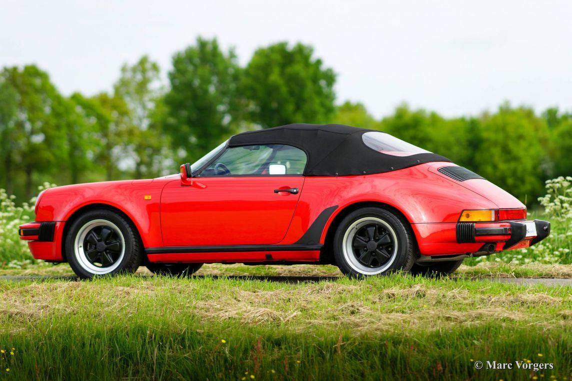 Porsche 911 Speedster 3 2 1989 Welcome To Classicargarage