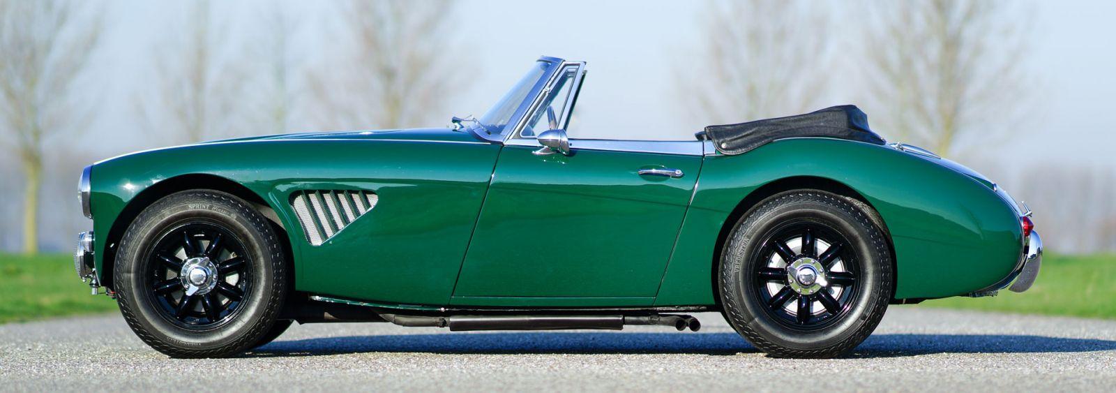 Charming Austin Healey 3000 Mk III, 1965